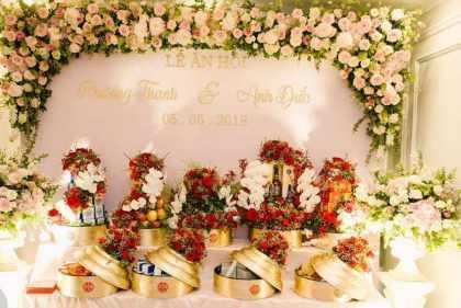 Tổng hợp mẫu tráp cưới đẹp phù hợp với xu hướng mới 2020 Marry