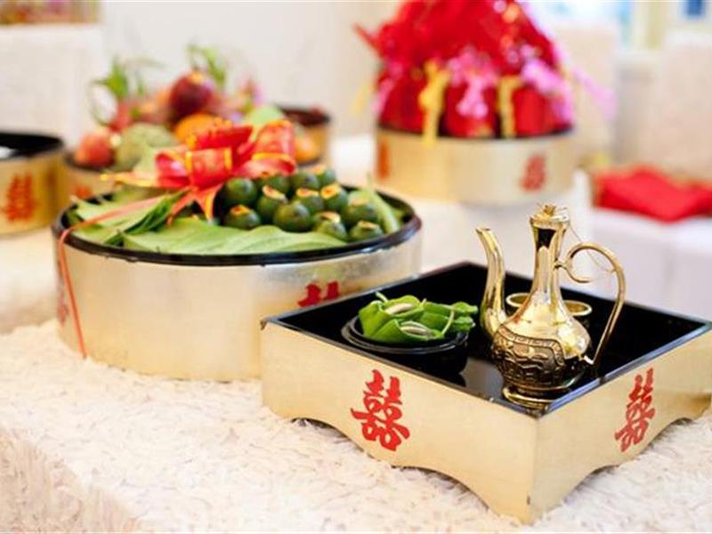 Mâm quả đám hỏi miền Trung 2020 - Sự kết hợp độc đáo trong văn hóa Marry