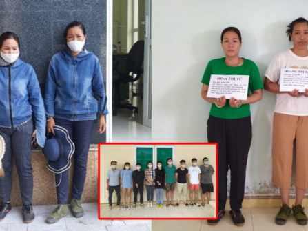 """Chân dung 2 """"nữ quái"""" bị bắt giữ khi đưa dẫn 9 người Trung Quốc xuất nhập cảnh trái phép vào Việt Nam"""
