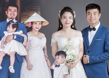 """Câu chuyện về đám """"cưới chạy tang"""" đằng sau đầy xót xa của đôi vợ chồng có với nhau 2 mặt con, cô dâu mang bầu bé thứ 3 mới tổ chức hôn lễ"""