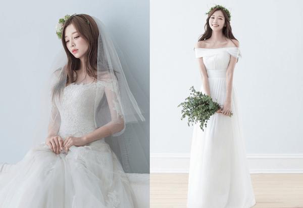 Đầm cưới trễ vai gợi cảm Marry