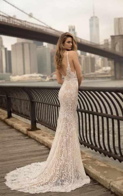 Váy cưới đơn giản sang trọng đuôi cá 2 Marry