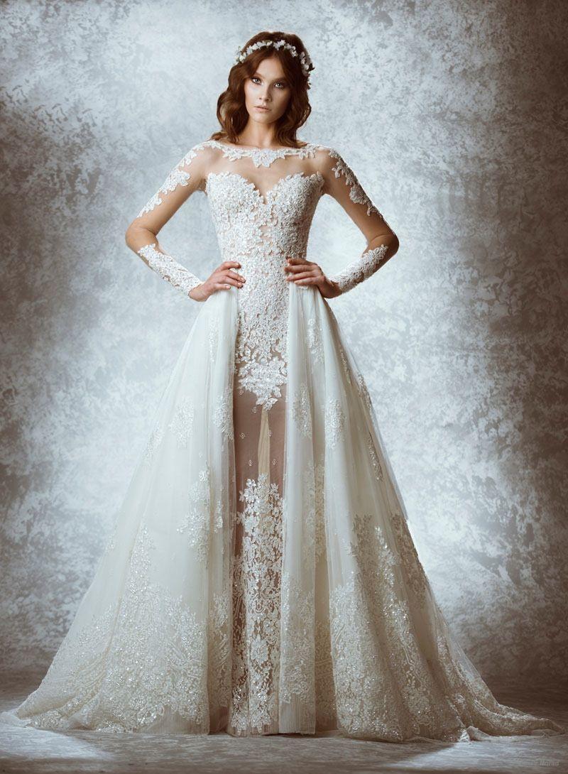 Váy cưới đơn giản sang trọng cut - out 2 Marry