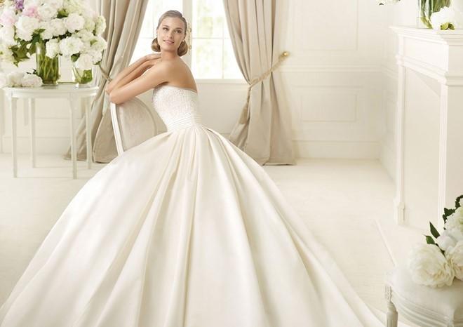 Váy cưới sang trọng đơn giản 2 Marry