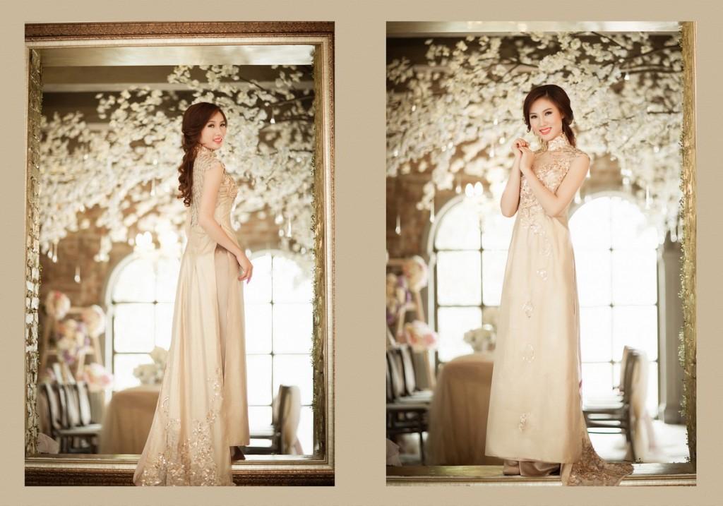 Những bộ áo cưới đơn giản mà đẹp cho cô dâu trong ngày trọng đại Marry