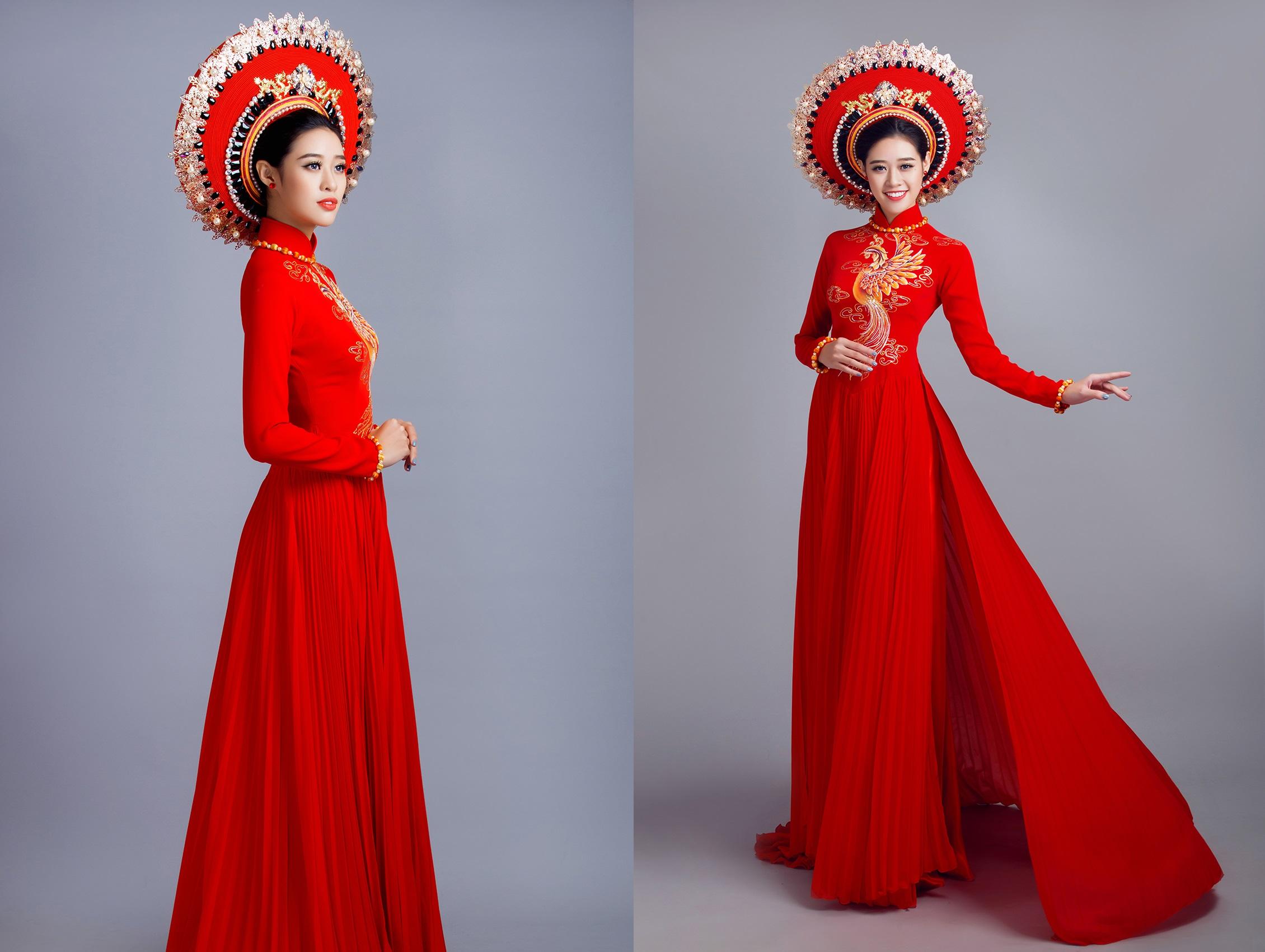 Chọn phụ kiện đi kèm với áo dài cưới đơn giản Marry