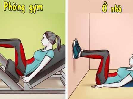 Tập tại nhà hiệu quả chẳng kém phòng gym dù chỉ sử dụng ghế, cầu thang và balô