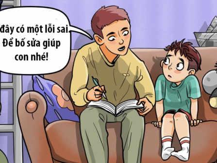 7 sai lầm cha mẹ thường mắc phải trong cách nuôi dạy con cái