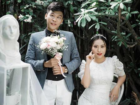 Những hình ảnh cưới vui vẻ của các cặp đôi siêu lầy lội