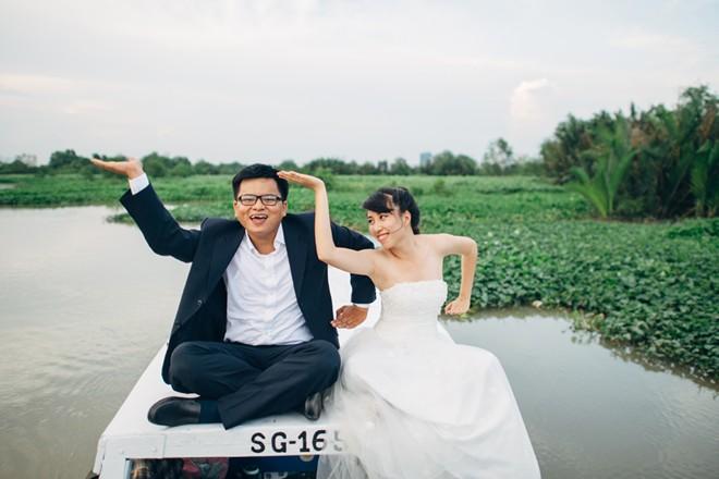 Những hình ảnh cưới vui vẻ của các cặp đôi siêu lầy lội. Marry
