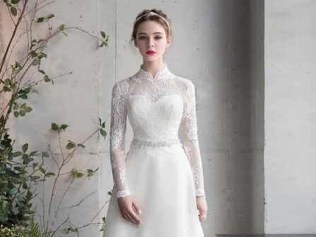 Những mẫu váy cưới đơn giản sang trọng mà mọi cô dâu đều yêu thích