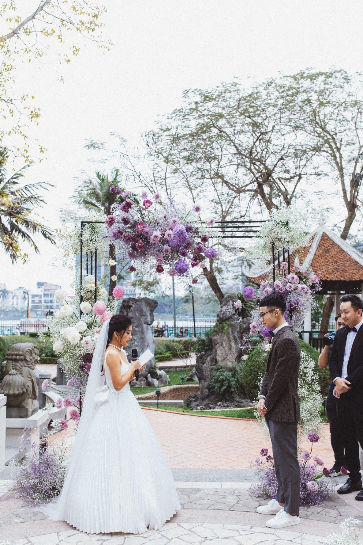 Chương trình cho đám cưới buổi trưa