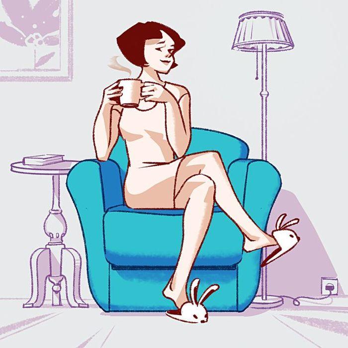 Trắc nghiệm: thói quen ngồi sofa tiết lộ tất tần tật tính cách của bạn Marry