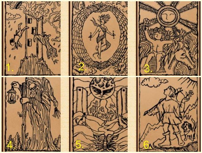 Chọn con bài Tarot mà bạn yêu thích để xem tương lai vận mệnh Marry