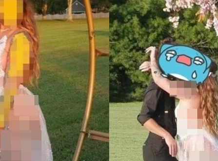"""Cô dâu gây xôn xao MXH với chiếc váy cưới khiến dân tình """"nóng mắt"""", quan khách cũng phải xấu hổ không dám nhìn"""