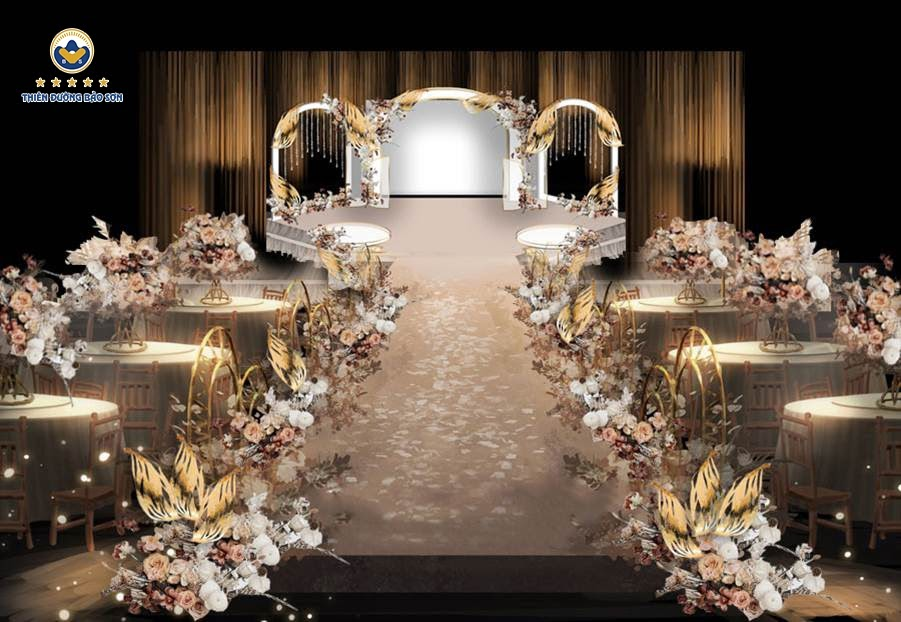 BaoSon Palace - Trung tâm tiệc cưới đẳng cấp và lớn nhất phía tây Hà Nội Marry