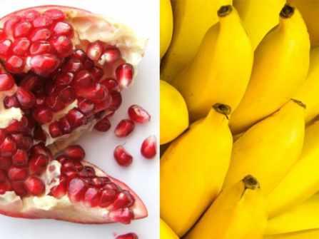 11 loại trái cây giúp da bạn đẹp miễn chê: Chuối chứa rất nhiều kali, lựu chống lão hóa