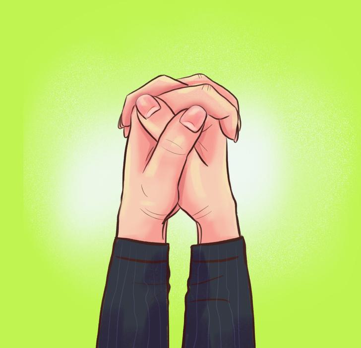 Cách nắm chặt hai tay nói lên điều gì về con người bạn? Marry