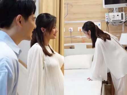 Đông Nhi ở phòng Tổng thống 23 triệu/1 ngày tại bệnh viện 5 sao khi sinh công chúa đầu lòng