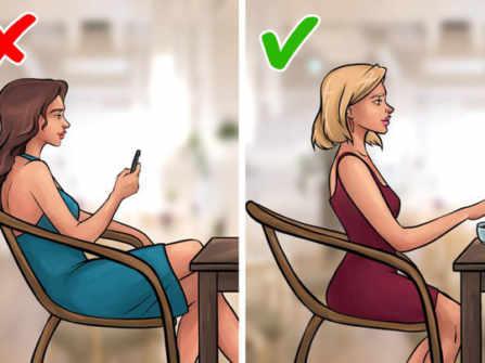 7 quy tắc ứng xử thời hiện đại chị em nào cũng nên biết: đừng dựa lưng vào ghế, đừng ngại lao động
